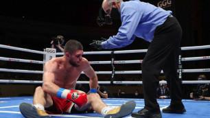 Ахмедовтың чемпиондық жекпе-жекте нокаутпен жеңілуінің басты себебі айтылды