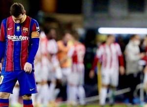 """Месси алаңнан қуылды: """"Барселона"""" Испания суперкубогында ұтылып қалды"""