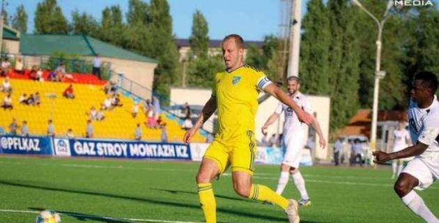 Бес беларуссиялық футболшы қазақстандық команда сапынан кетіп қалды