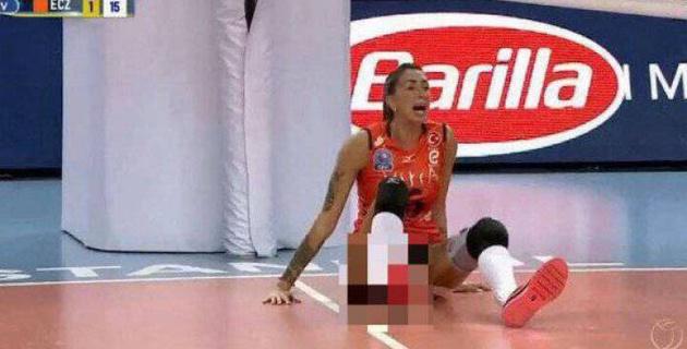 Олимпиада ойындарының екі дүркін чемпионы жантүршігерлік жарақат алды