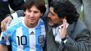 Марадона Мессиге жеңілдік жасағаны үшін ФИФА-ны сынға алды