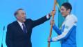 Назарбаев Универсиада-2017 эстафетасының алауын жақты