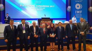 Түсіпбеков халықаралық ауыр атлетика федерациясының вице-президенті болып сайланды