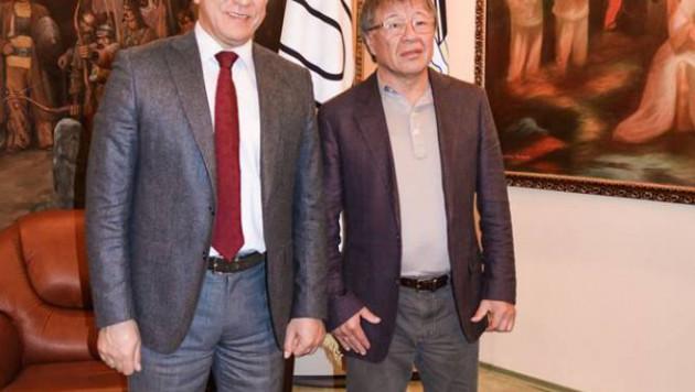 Наиль Нұров Қазақ спорт және туризм академиясында Алматыдағы Универсиаданы қорытындылады