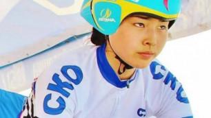 Алматыда 17 жастағы велоспортшы Дана Ахметова қайтыс болды