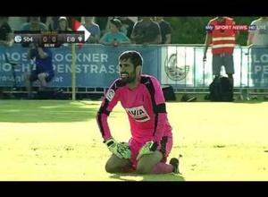 Испаниялық клубтың ойыншысы алаңның ортасынан өз қақпасына гол соқты