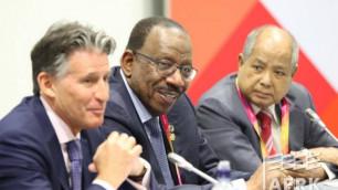 IAAF президенті Лондонда Азия құрлығының федерацияларының өкілдерімен кездесті
