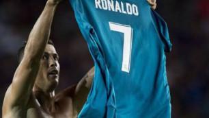 """Роналду """"Барселона"""" қақпасына гол салған сәтінде Мессидің қылығын қайталады"""