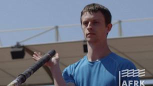 Сырықпен секіруші Сергей Григорьев Универсиада ойындарында күміс медаль жеңіп алды