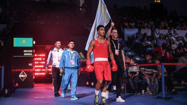 Әбілхан Аманқұл Рио Олимпиадасының чемпионын жеңді