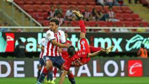 Мексикалық футболшы ең әдемі гол салды