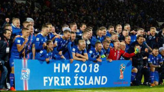 Исландия құрамасы өз тарихында бірінші рет әлем біріншілігінің финалдық кезеңіне шықты