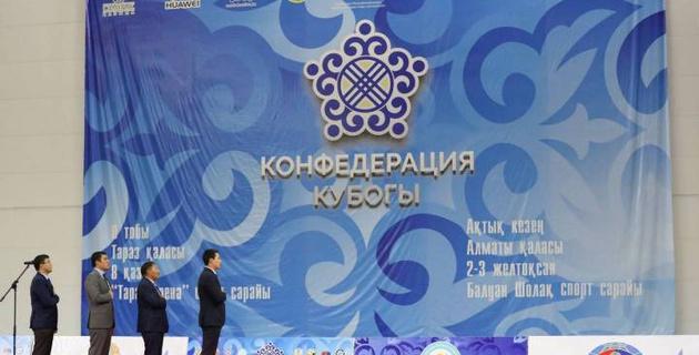 Алматы облысының балуандары Конфедерация кубогының жартылай финалына шықты