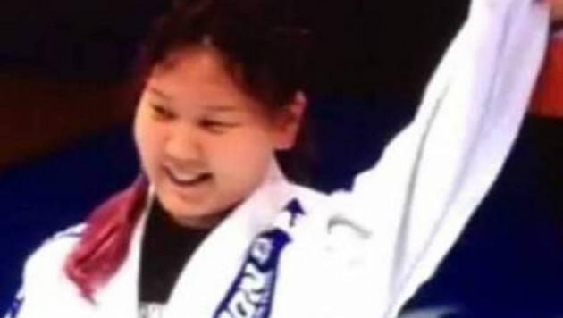 15 жастағы алматылық қыз греплингтен әлем чемпионы атанды