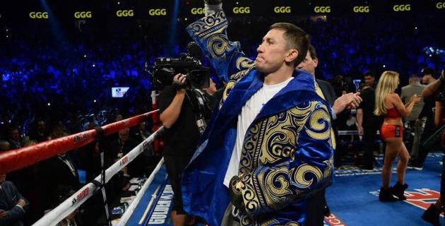 Головкин табысты боксшылардың P4P рейтингінде екінші орынға түсіп қалды