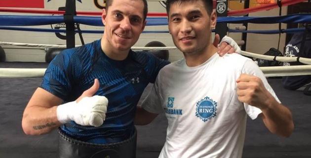 Сойлыбаев WBA чемпионымен спарринг өткізді