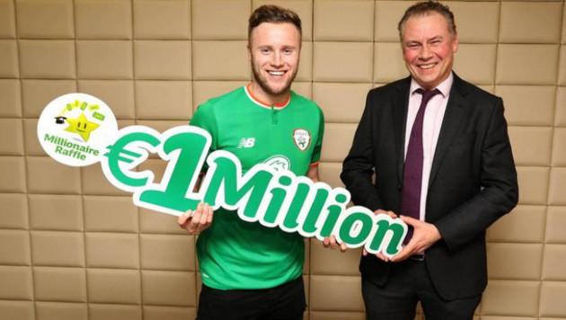 Ирландиялық футболшы лотореядан бір миллион еуро ұтып алды