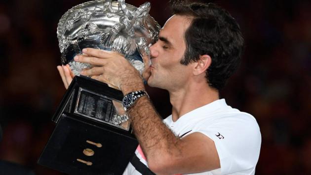 """Роджер Федерер """"Үлкен дулыға"""" санатындағы жарыстарда жиырмасыншы рет жеңіске жетті"""