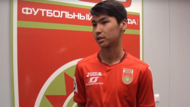 18 жастағы шабуылшы Еркебұлан Сейдахмет Қазақстан құрамасына шақырту алды