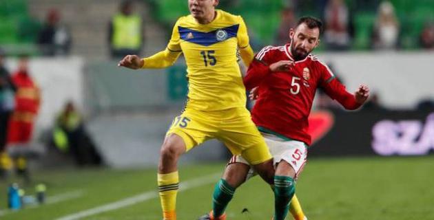 Футболдан Қазақстан құрамасы Венгрияны жеңді