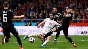 """Мессидің """"ашуы"""": Аргентина құрамасы Испаниядан оңбай жеңілді"""