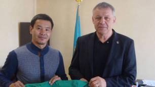"""Таңат Нөсербаев """"Тобыл"""" клубына ауысты"""