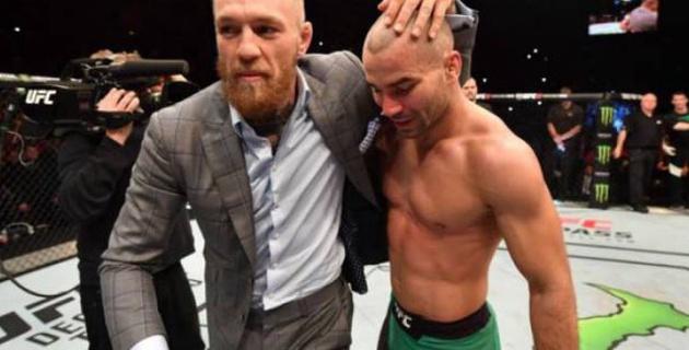 Ресейлік спортшы МакГрегормен бірге автобусқа шабуыл жасағаннан кейін  UFC-223 турнирінен шеттетілді