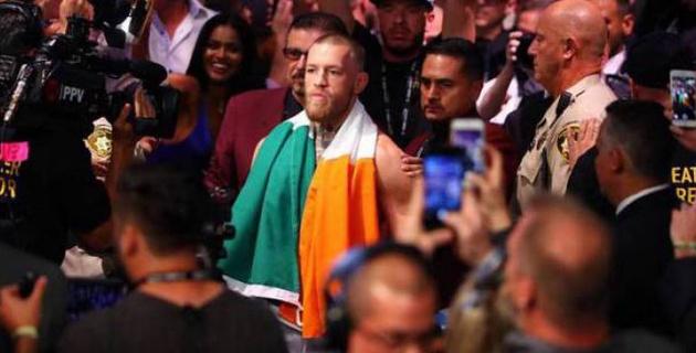Нью-Йоркте UFC спортшыларына шабуыл жасаған МакГрегор тұтқындалды