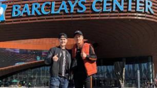 Данияр Елеусінов кәсіпқой бокстағы бірінші кездесуін өткізу үшін Нью-Йорк қаласына келді