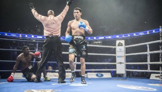 Әлімханұлы өз салмағының көшбасшысы болатын боксшы - Жанат Жақиянов