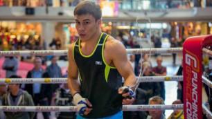 Давид Лемьенің қатысуымен өтетін бокс кешінде жұдырықтасатын Батыр Жүкембаевтың қарсыласы анықталды