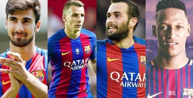"""""""Барселона"""" футбол клубының """"қара тізіміндегі"""" 4 футболшы"""