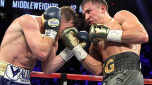"""Golden Boy боксшысы Головкин мен """"Канело"""" арасындағы екінші кездесудің жеңімпазымен кездесетінін айтты"""