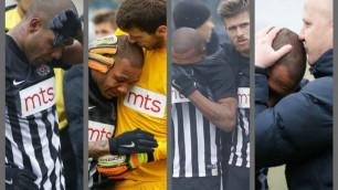 Бразилиялық футболшы нәсілшіл жанкүйерлердің мазағынан жылап жіберді
