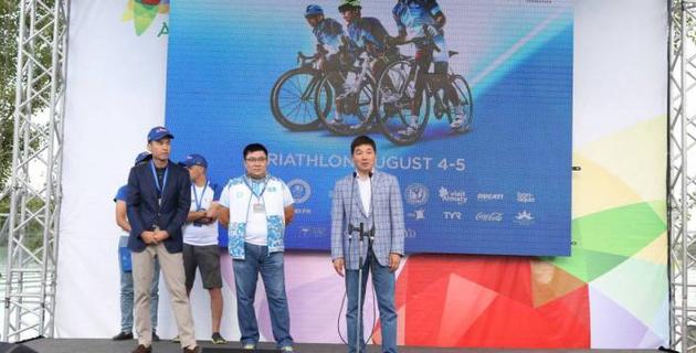 Алматыдағы триатлоннан Азия Кубогы басталды