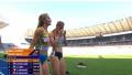 Украиналық атлет жеңісін тойлаудың орнына қарсыласына мәреге жетуге көмектесті