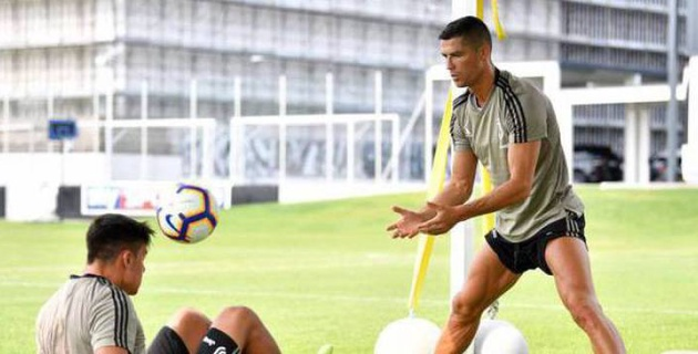 Роналду жаттығу кезінде ұятқа қалды