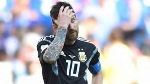 Месси Аргентина құрамасынан уақытша кетті