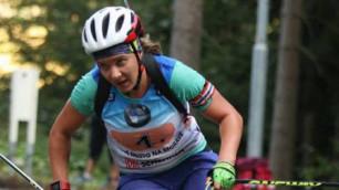 Қазақстандық спортшы жазғы биатлоннан әлем чемпионатында қола жеңіп алды
