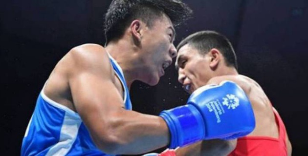 Ту ұстаған боксшымыз 2018 жылғы Азияданың жартылай финалына өтіп, жүлдеге ілігіп тұр