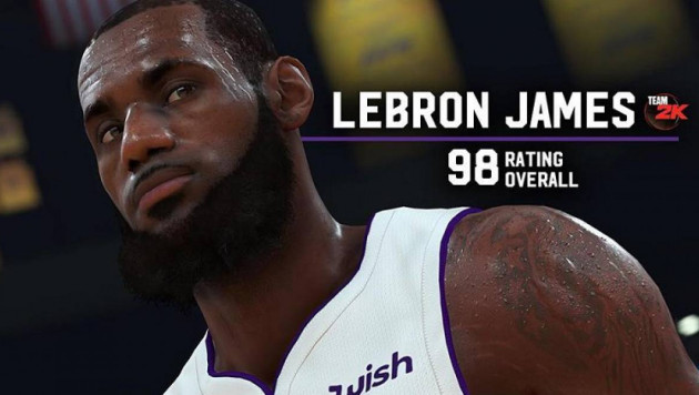 Леброн Джеймс NBA 2K19 видеойынының жаңа ролигіне түсті