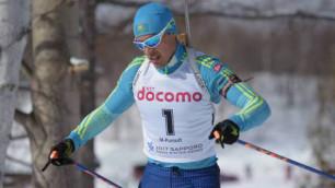 Қазақстандық биатлоншы Азиаданың күміс медалін жеңіп алды