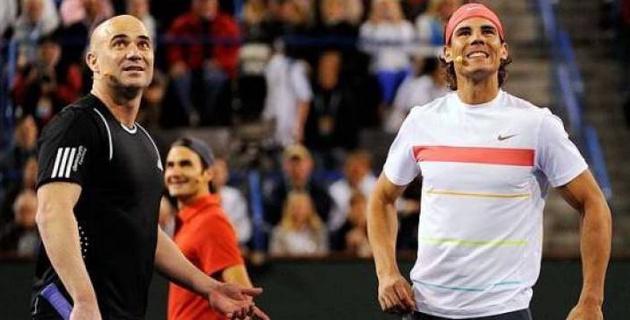 Андре Агасси: Ең үздік ойыным Федерер мен Надальдың нашарына да жетпейді
