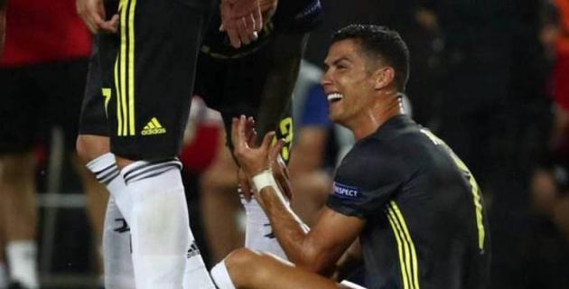 Криштиану Роналду Чемпиондар лигасында алғаш рет алаңнан қуылды