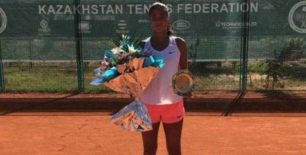 Қазақстандық теннисші қыз ITF турнирінің финалына жетті