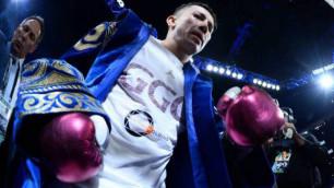 Головкин 2010 жылдан бері WBA рейтингіне алғаш кірді
