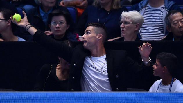 Роналду Лондонда теннистен Джокович - Изнер кездесуін тамашалады