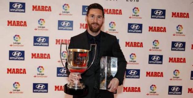 Месси алтыншы рет Испания үздік ойыншысы атағын алды