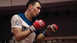 """""""Тарихтағы алғашқы қазақ болғандықтан мойнымдағы жауапкершілік үлкен"""". Исмағұлов UFC-дегі жекпе-жек жайлы"""