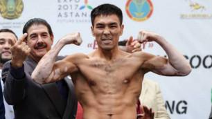 Мэнни Пакьяоның спарринг-серігін жеңген Жаңабаев WBC чемпионы атанды